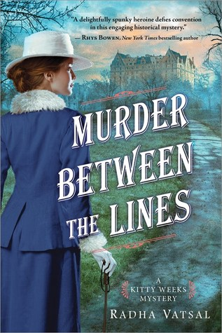 Audio Review: Murder Between the Lines by Radha Vatsal, Justine Eyre(Narrator)