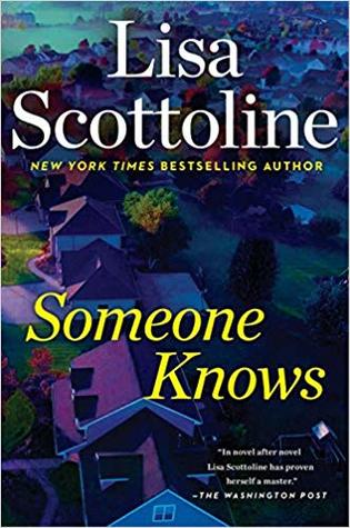 Review: Someone Knows by Lisa Scottoline